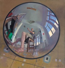 Self Portrait in Convex Mi... artwork