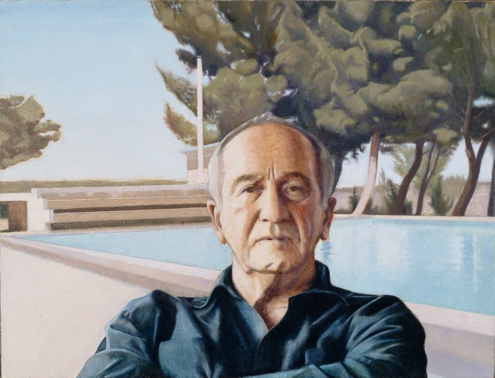 Portrait of Haim Shiff