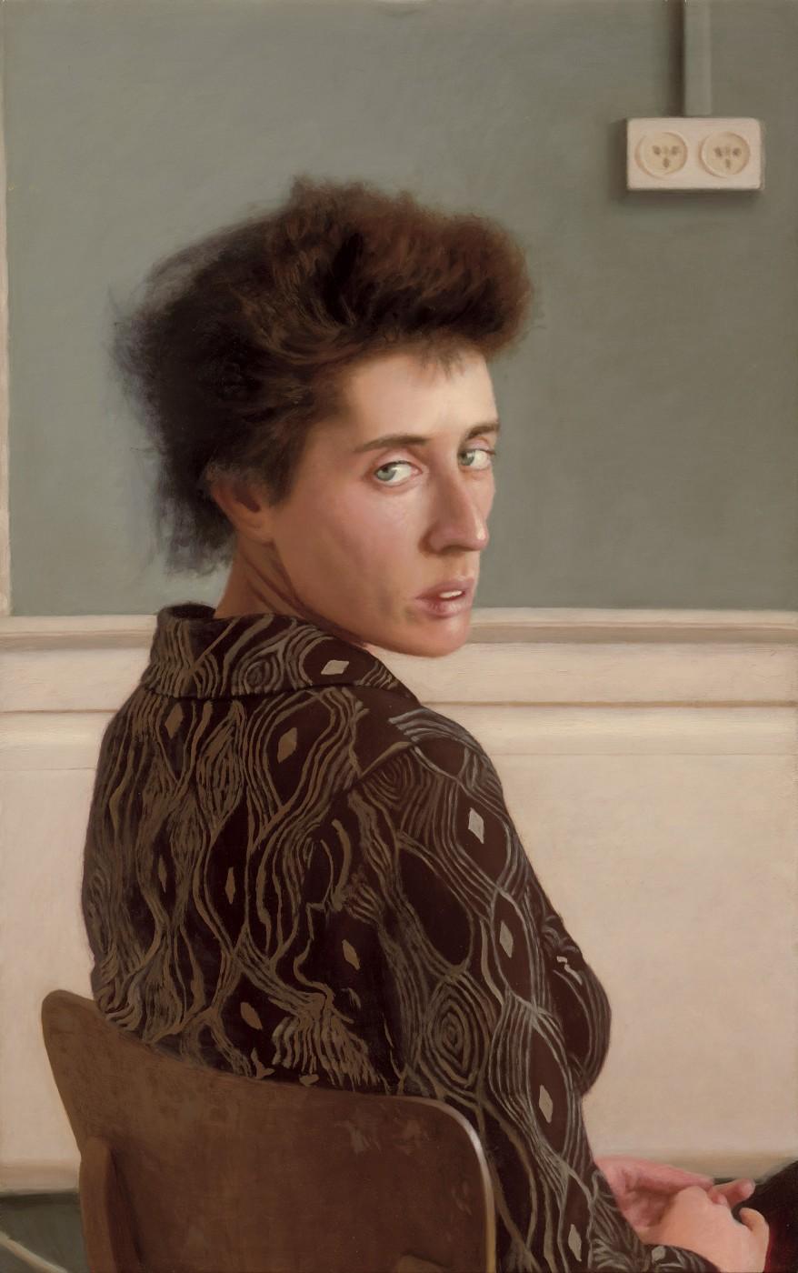 Looking Back - Portrait of Sharon