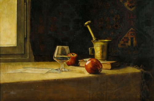 Still life and Apples