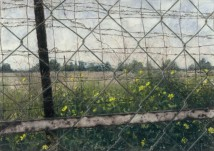 Landscape with Fence 1 artwork