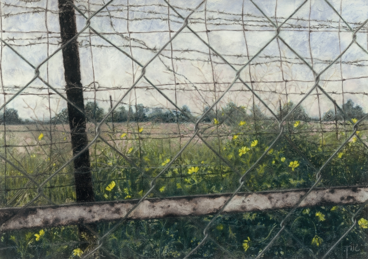 Landscape with fence 1