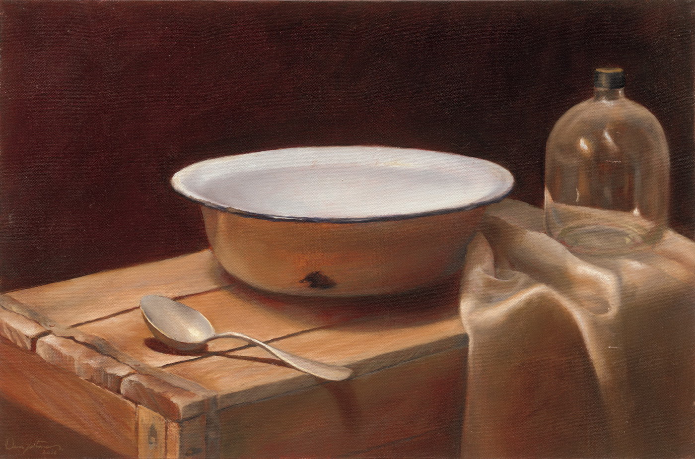 Bowl on a box