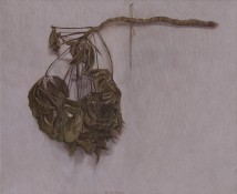 A Black Branch on the Wall artwork