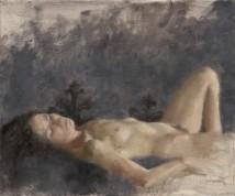 Talia sleeping artwork