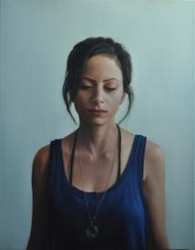 Self Portrait with Masbaha artwork
