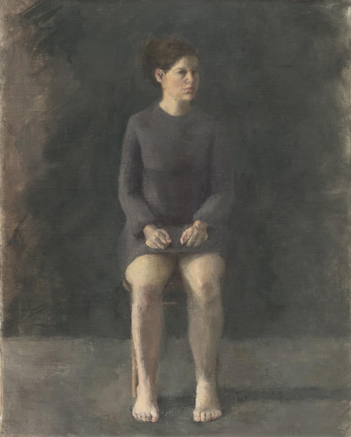 Self Portrait sitting