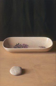 Flowers and stones artwork