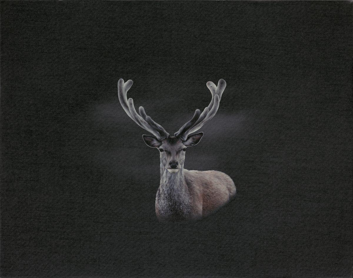 My Deer painting