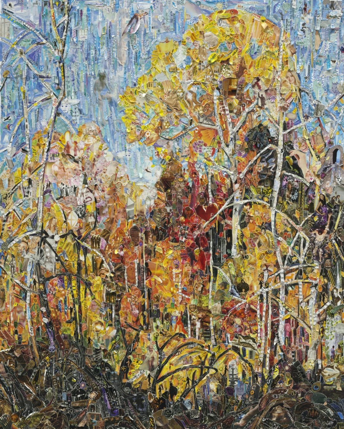 Autumn - Orillia, after Franklin Carmichael