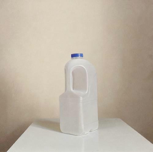 Empty Milk Container