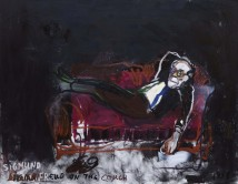 Freud on the Couch 1938 artwork