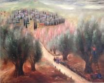 Road To Ein Karem artwork