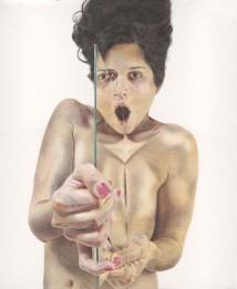 Self Portrait with Mirror 1 artwork