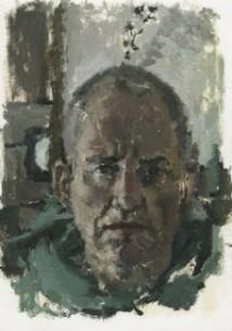 Self Portrait with Thorns artwork