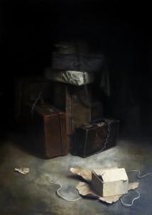 Suitcases artwork