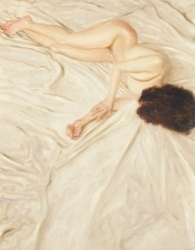 Nude on a Sheet artwork