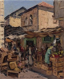 The Bucharim Market artwork