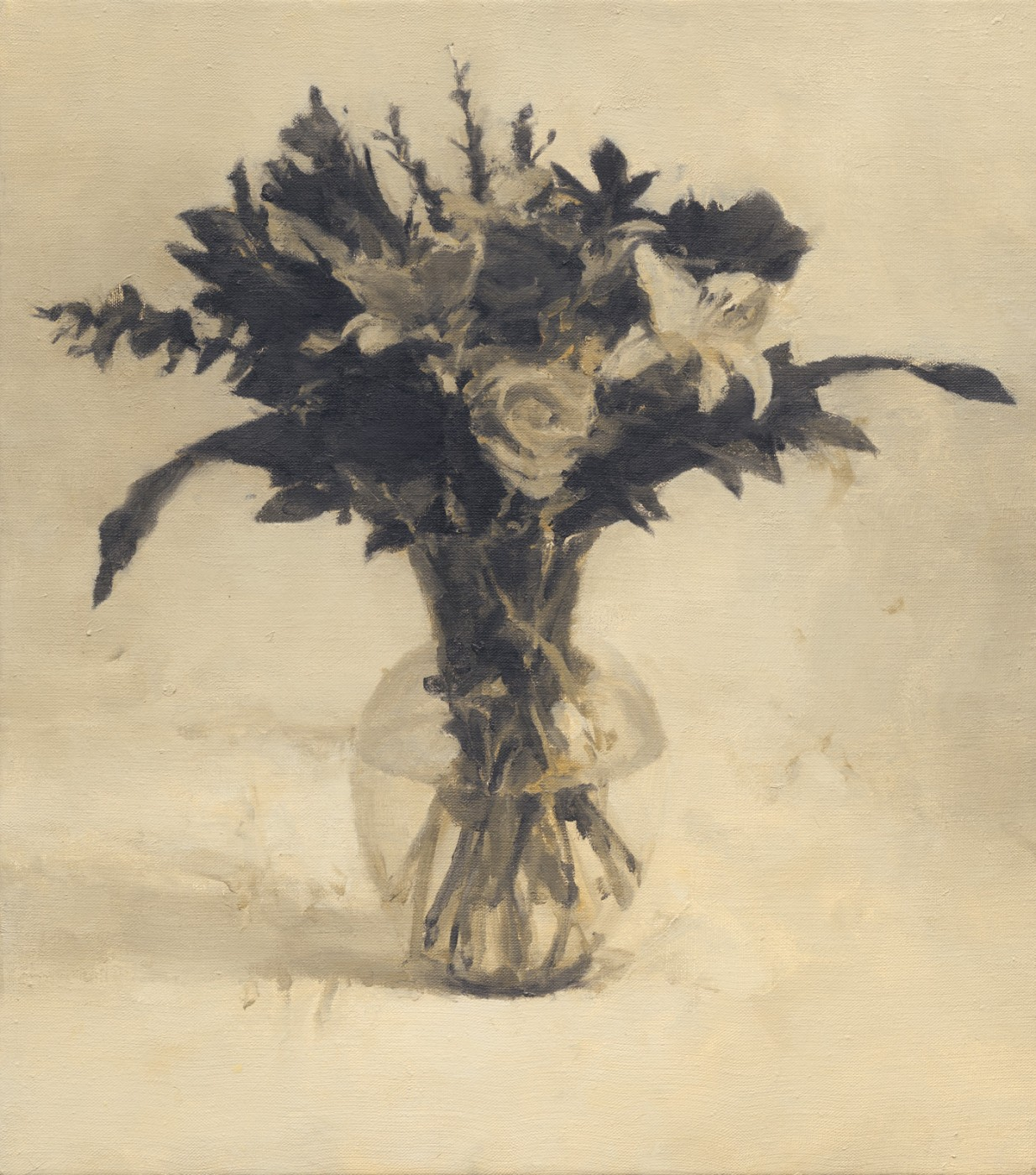 Still life with flowers two Roses II