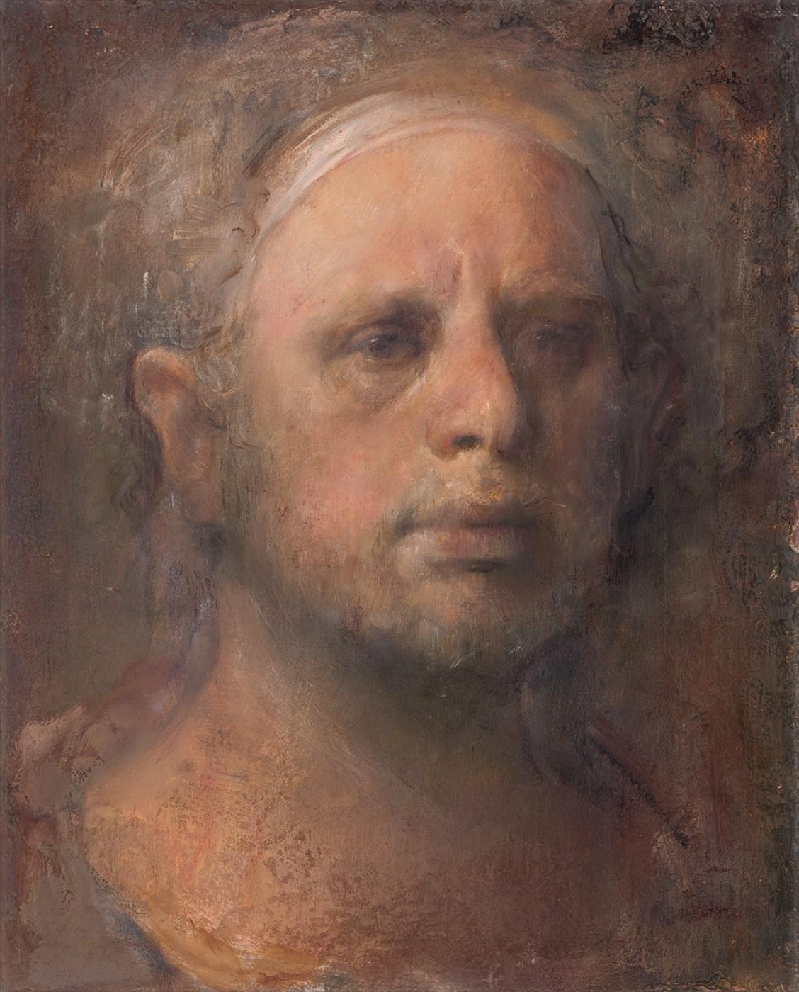 Blond self portrait