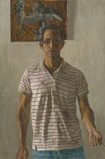 Self-portrait with Valuabl... artwork