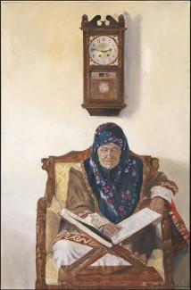 Grandmother Praying artwork