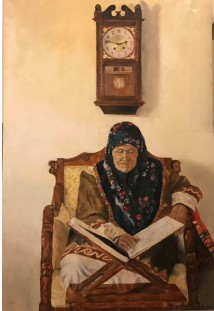 Grandmother Praying artwork