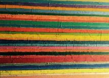Untitled (stripes) artwork