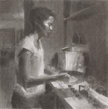 Frying artwork