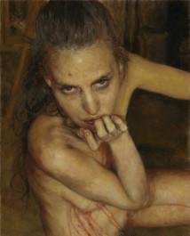 Untitled, Self-portrait artwork