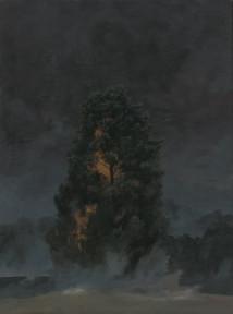 Burning Tree 1 artwork